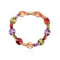 new brand design woman fashion 18K gold bracelet TOP graceful life Zircon Bangle Bracelet 110785