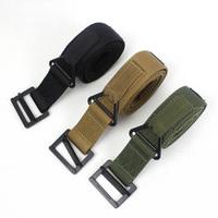 Free shipping Outdoor tactical belt blackhawk cqb belt inside professional nylon waist belt Men'sMilitaryDuty Rescue Rigger Belt