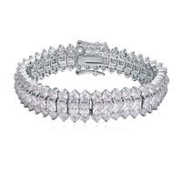 new brand design fashion woman early 18K gold bracelet TOP Kitajima clear CZ Bangle Bracelet 111769