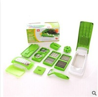 Nicer Dicer Plus Cooking Tool Vegetable Fruits Food Slicer Cutter Containers Chopper Chop Potato Peelers Kitchen Dining Bar Tool