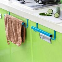Cupboard Hanging Rack Shelf Dish Towel Clean Towel Hanger Hook Kitchen Hanger