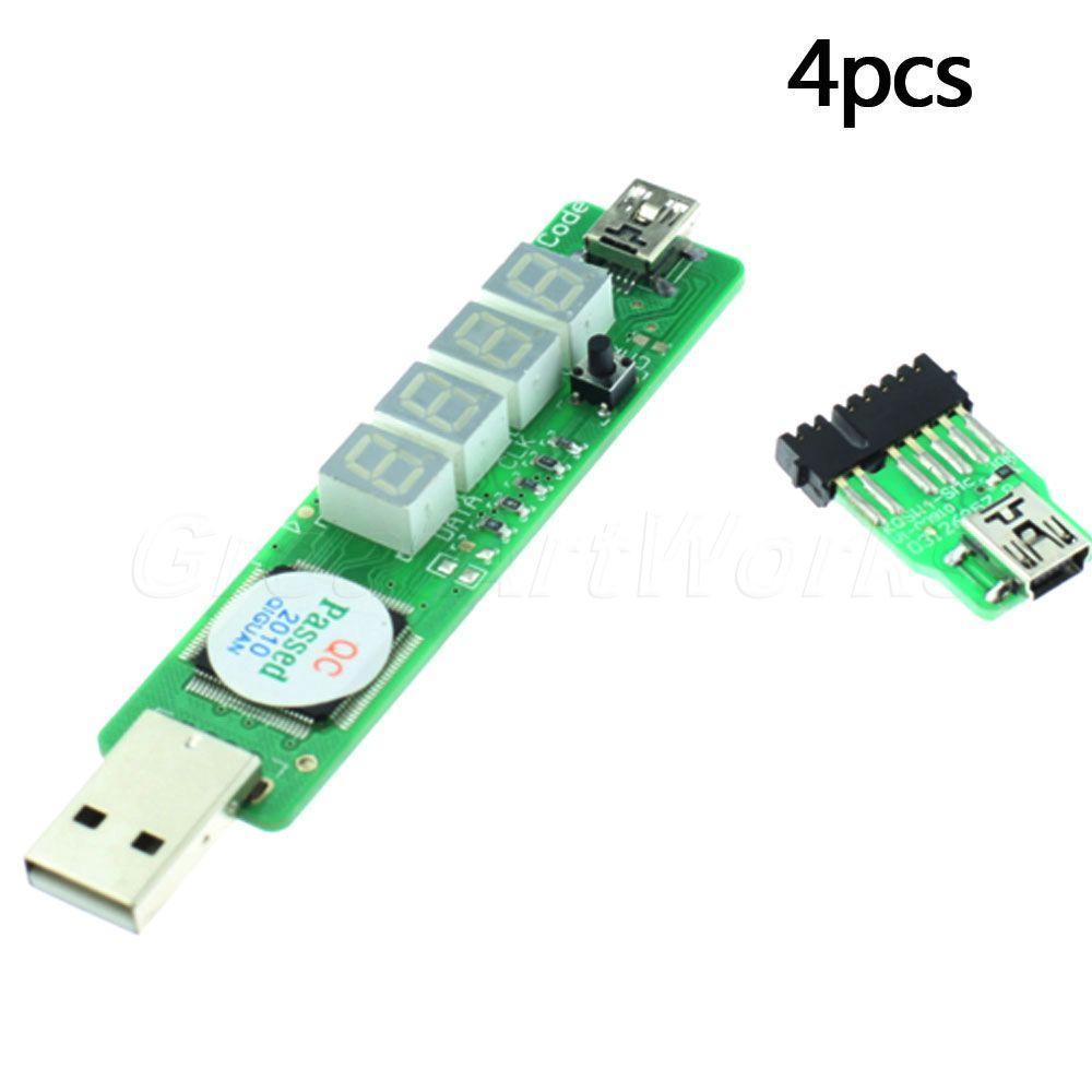 Hot Sale 2Sets PC Post Card Tester Mainboard Checker USB 4-bit SM BUS Battery Diagnostic PCI Analyzer(China (Mainland))