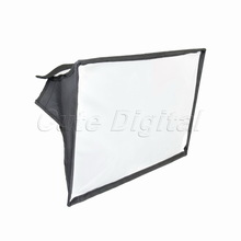 Portable 20x30cm Diffuser Soften Light Fold for Photo Flash Speedlight With Velcro Universal Camera Photo Flash Softbox