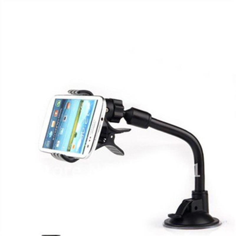 2PCS/LOT Ideal Choice Rotate Mobile Phone Stents Universal Car Windshield Mount Holder Bracke Car Holder Smartphone(China (Mainland))