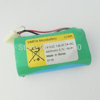 Original VARTA 2P/LIC 18650-24 AC 3.7V 4800mAH LI-ION Rechargeble Battery MADE IN KOREA