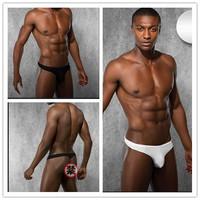 pouch mens thongs pure color elastic men's t back underwear comfortable sexy men's under pants fashion male panties