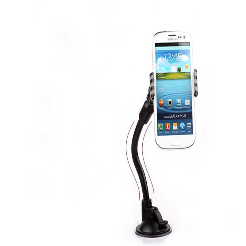 3PCS/LOT Ideal Choice Rotate Mobile Phone Stents Universal Car Windshield Mount Holder Bracke Car Holder Smartphone(China (Mainland))