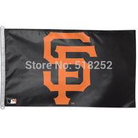 MLB San Francisco Giants Flag 3x5 FT 150X90CM Banner 100D Polyester flag 1032, free shipping