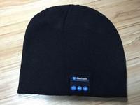 wireless bluetooth hat beanie knitted winter hat headset hands-free music mp3 speaker hat women magic sport running hats cap