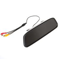 480 x 272 4.3 Inch TFT-LCD Car Rear View Mirror Monitor + 7 IR Lights Car Rear View Camera