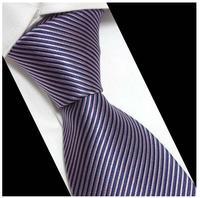 Brand Striped Silk Neck tie Mens Formal Busniess Worker Marry Wedding Party Dresses Neckties Mens Bowtie