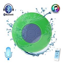 Green Portable Waterproof Shower Wireless Bluetooth Speaker For ipod iphone caixa de som bluetooth(China (Mainland))