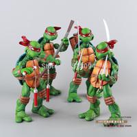 4pcs/set Teenage Mutant Ninja Turtles Classic Collection Action Figures New In Box MVFG085