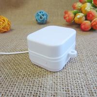 Mini Pull string music box washable plastic music box mechanism for toys