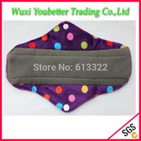 Good Quality Reusable Sanitary Pads Charcoal Bamboo Mama Cloth Day USE Cloth Menstrual Pad
