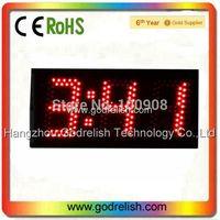 """Godrelish 5"""" Red Led Countdown clock 3 digital  wall clock led countdown timer"""
