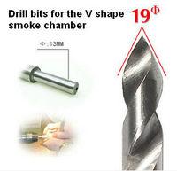 V Drill Bits for smoke chamber /tobacco pipe making 19mm diameter -free shipping