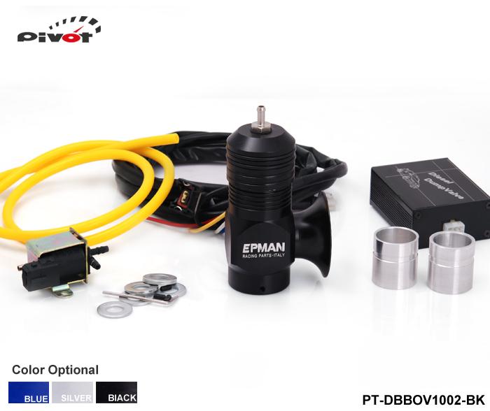 Pivot - Universal Electrical Turbo Diesel Dump Valve Type-H-RFL Vacuum Blow Off Valve Bov Kit black PT-DBBOV1002-BK(China (Mainland))