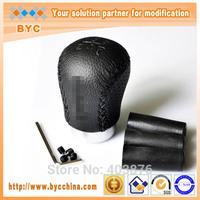 Car Styling BYC Wonderful Touch Universal Shifting Knob,Racing Gear  Shift Head, shift gear konb in leather