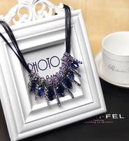 Autumn necklace short pendant accessories new arrival all-match long necklace