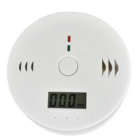 LCD CO Carbon Monoxide Detector Poisoning Gas Fire Warning Alarm Sensor Home Security Safety New