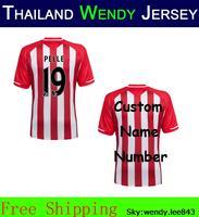 Wendy Southampton home Thailand Kit 14 15 Soccer Blouse Jersey Dusan Tadic Graziano Pelle Ryan Bertrand