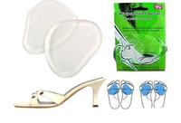 1 Pair Anti-Slip Silicone Gel Insole Foot Heels Shoes Anti Slip Cushion Pads