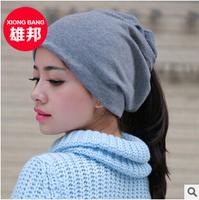 WINTER girl Skullies & Beanies Stacking Knitted Hat Women Baggy Beanie Beret Hat Winter Warm Outdoor & Casual Cap