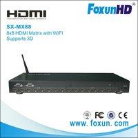 8x8 HDMI Matrix  with WIFI & 3D    New!