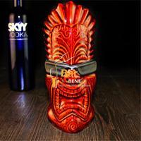 American Popular Bar Furnishing Articles Tiki Cup Hawaii Home Decoration Ceramic Cocktail Mug Creative Cup Free Shipping