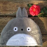 Super cute soft winter plush cartoon gray totoro / brown monkey style cap, women warm hat,Christmas&birthday gift for girls, 1pc