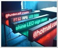 High Brigtness P7.62 Red Yellow Green Tri-color Indoor Image,text Sexy  LED board Aliexpress