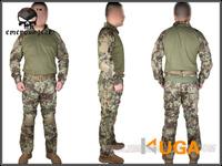 Emerson BDU Gen2 Combat Suit &Pants EM6925C military uniform with knee pads MR EM6925C free shipping