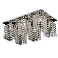 Modern LED k9 Chandeliers Lights bedroom living room dining 6 head Chandeliers  modern minimalist LED  Square Chandeliers WTR-78