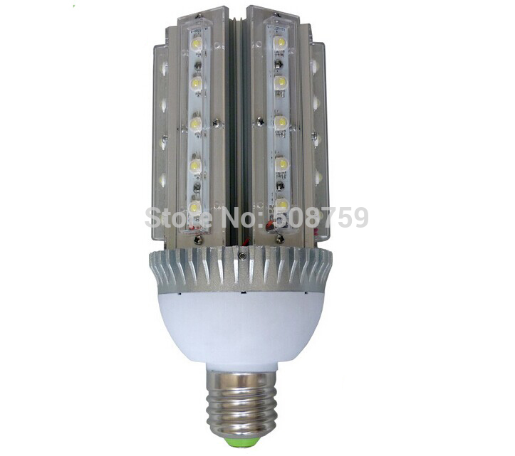 Free shipping 4pcs/lot led lamp e40 30W led garden street 220v light fixtures outdoor Bridgelux outdoor lights white 85-265v(China (Mainland))