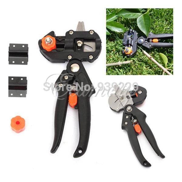 Professional Garden Fruit Tree Pruning Shear Grafting Cutting Tool w/ 2 Blades(China (Mainland))