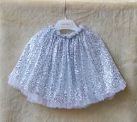 Cute Sequins Skirt For Girls Korean Fashion Children Lace Tulle Tutu Skirt Kid Hot Sell Gauze Skirt Girl Party Skirt 3902
