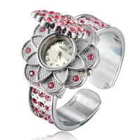 2014 New Hot Fashion Women Bracelet Bangle Wave Rhinestone Crystal Wrist Watches Ladies Luxury Casual watches Original Relogio