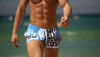 Free shipping New arrival fashion men swimwear,popular men beach pants,swim trunks underwear,men home shorts short pants