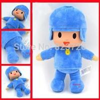 "Free Shipping New Pocoyo Plush Soft Baby Toys 10"" 26cm Cartoon Soft Doll Pocoyo plush Stuffed Toy Fors Kids Best Christmas Gift"