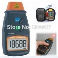 Professional Digital Laser Photo Tachometer Non Contact RPM Tach