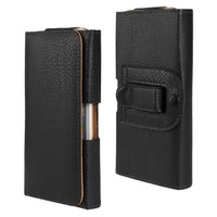 """50PCS/Lot Phone Case Lichi Horizontal Belt Clip Holster PU Leather Pouch Case Cover for iPhone 6 4.7"""""""