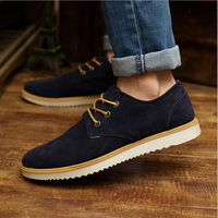 2014 Spring men's sneakers British style leahter casual shoes men's fashion breathable shoes flats size 39-44,Drop shipping,