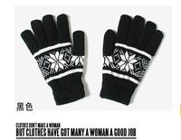 South Korea autumn/winter more lovely double male wool fleece warm gloves wholesale men's gloves 20pcs/lot