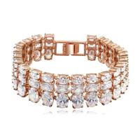 new brand design woman fashion 18K gold bracelet TOP Norse mythology Zircon Bangle Bracelet 110782