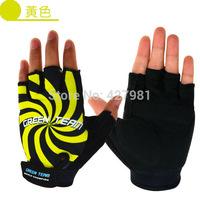 Taiwan Jih Sun GREEN TEAM brand cycling half finger gloves