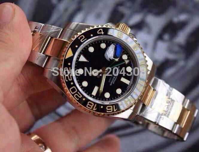 GMT Master II 116713 G 18K/SS