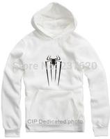 Free shipping For height 70-150cm kids hoodie super hero spiderman hoodie clothing 8 color fashion Fleece hoodies
