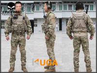 EMERSON Gen2 Combat BDU Shirt & Pants & pads combat uniform Multicam military camouflage uniform EM2725