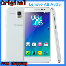 Original Lenovo A8 A808T Mobile Phone MTK6592 Octa core 1.7G Multi-language 5.0″HD IPS 2G RAM 16GB ROM In Stock Black White